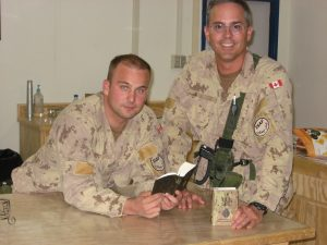 [Photo] Canadian soldiers with their Bibles