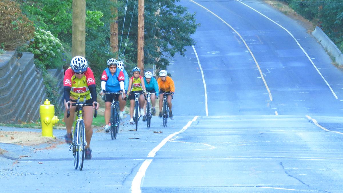 Photo: Cyclists